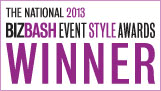 The National 2013 BizBash Event Style Awards Winner