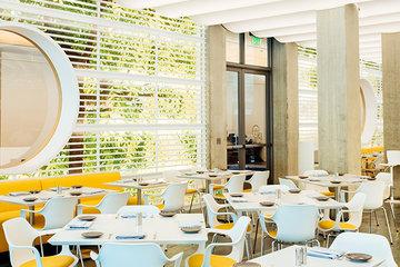 Interior of Zeidler's Café