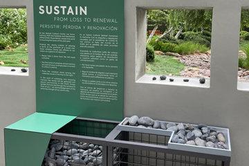 photo of sustain installation