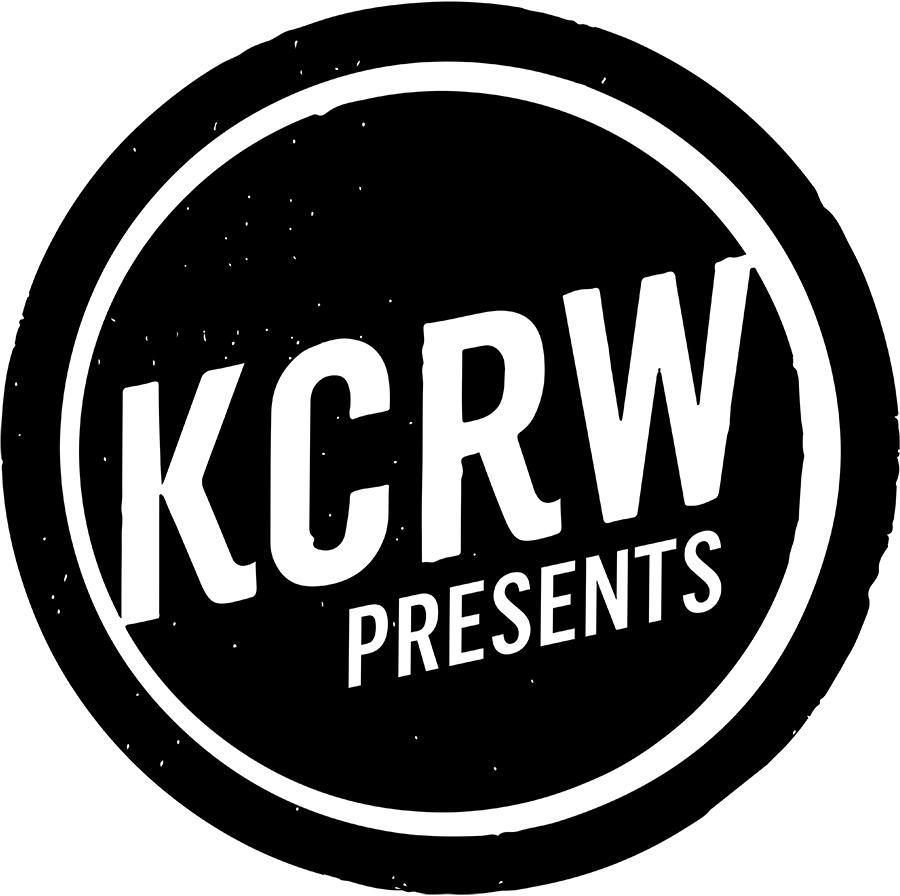 KCRW presents logo