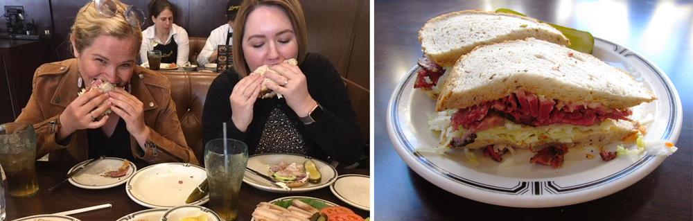 Eating at Deli image
