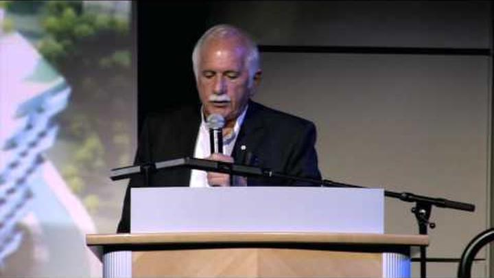 "Hear Moshe Safdie deliver ""Humanizing Megascale,"" a lecture at the Skirball presented in October 2013."